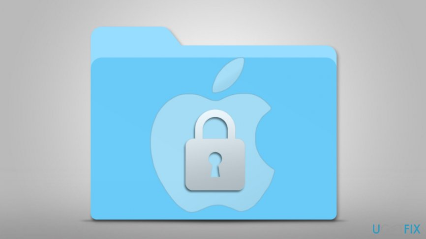 Password-Protect files and folders on mac